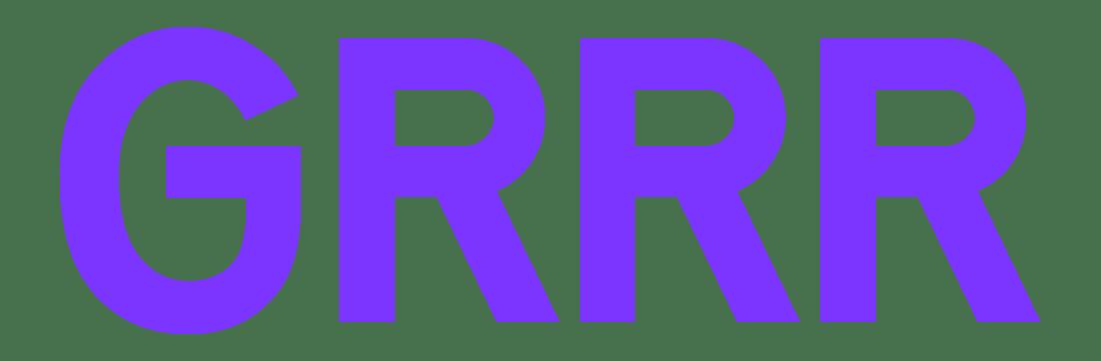 GRRR logo
